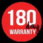 180day warranty